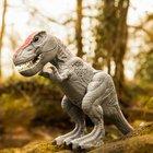 Mighty Megasaur T-Rex mit beweglichem Kiefer, grau