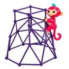 WowWee - Fingerlings Spielset Kletterturm mit Affe