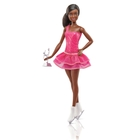 Barbie - Eiskunstläuferin Puppe brünett