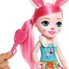 Enchantimals - Hasenmädchen Bree Bunny mit Tierfreund Twist