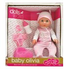 Dolls World - Baby-Puppe Olivia