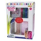 Paint Your Own - Metallic Vasen, 2er-Pack