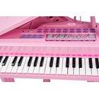 Big Steps - Konzertflügel, pink