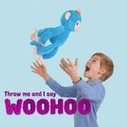 WowWee - Fingerlings interaktives Kuscheltier Boris, blau, ca. 40 cm