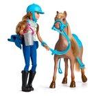 Barbie - Pink Passport: Puppe und Ranch-Set