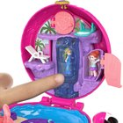 Polly Pocket - Pocket-Welt-Schatulle, Flamingo-Schwimmring