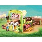 PLAYMOBIL - 9480 Pferdebox Abigail & Boomerang