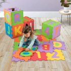 Big Steps - Puzzlematte: Alphabet und Nummern, 36-tlg.