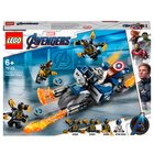 LEGO Marvel Super Heroes - 76123 Captain America: Outrider-Attacke