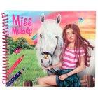 Miss Melody - Dress up Horse Malbuch