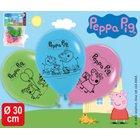 Peppa Pig - Luftballons, sortiert