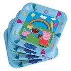 Peppa Pig - Pappteller, 6 Stück