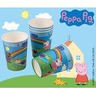 Peppa Pig - Pappbecher, 6 Stück