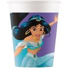 Disney Prinzessin Daydream - Pappbecher, 8 Stück