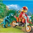 PLAYMOBIL - 9431 Motocross-Bike mit Raptor