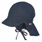 Sterntaler Nackenschutzmütze, blau