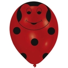 Riethmüller - Latexballons, Beetle Global, 6 Stk.