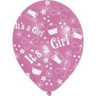 Riethmüller - Latexballons, It's a girl, 6 Stk.