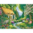 Ravensburger - Malen nach Zahlen: Cottage Garden