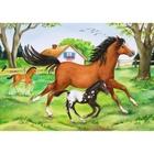 Ravensburger - Puzzle: Welt der Pferde, 2x24 Teile