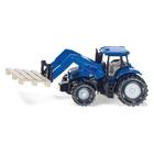 SIKU Farmer - 1487: Traktor mit Palettengabel und Palette