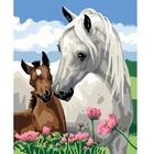 Ravensburger - Malen nach Zahlen: Stolze Pferdemutter