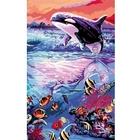 Ravensburger - Malen nach Zahlen Premium: Farbenfrohe Unterwasserwelt