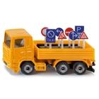 SIKU Super - 1322: LKW mit Verkehrszeichen