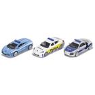 SIKU Super - 6302: Geschenkset Polizei, 1:32