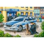 Ravensburger - Puzzle: Polizei und Feuerwehr, 2x12 Teile