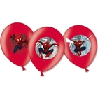 Spider-Man - Latexballons, 6 Stk.