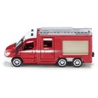 SIKU Super- 2113: Mercedes Benz 6x6 Sprinter Feuerwehr, 1:50