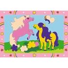 Ravensburger - Malen nach Zahlen Junior: Süße Ponys