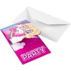 Barbie - Dreamtopia: 8 Einladungskarten