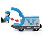 BRIO - blauer Reisezug