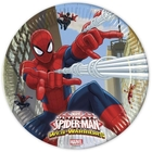 Ultimate Spider-Man Web Warriors - 8 Pappteller, Ø 23 cm