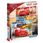 Clementoni - Puzzle: Disney Spezialkollektion, 2x60 Teile, sortiert