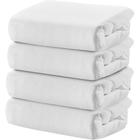 Domiva - Spannbetttuch 4er Pack weiß (70x140)