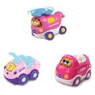 VTech - Tut Tut Baby Flitzer: Set 14 (Quad, Cabrio, Hubschrauber), pink