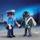 PLAYMOBIL - 9218 Duo Pack Polizist und Langfinger