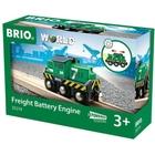 BRIO - Batterie-Frachtlok