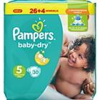 Pampers - Windeln Baby Dry Mini Gr. 5 (30 Stück)