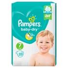 Pampers - Windeln Baby Dry Mini Gr. 7 (23 Stück)