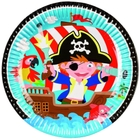 Amscan - Pirat: 8 Teller