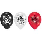 Amscan - Latexballons Pirat, 6 Stk.