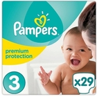 Pampers - Windeln Maxi Tragepack Premium Protection, Gr. 3 (29 Stück)