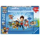 Ravensburger - Puzzle: Ryder & die Paw Patrol, 2x12 Teile