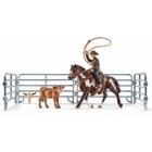 Schleich - 41418 Team roping mit Cowboy