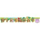 Amscan - Dschungeltiere: Partykette, Happy Birthday