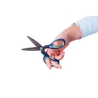 Pelikan - Schere Giffix für Rechtshänder, blau